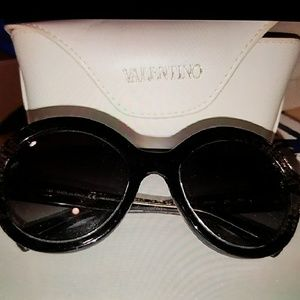 Valentino oversized sunglasses